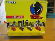Ertl Dick Tracy Car Micro Size Set - Tess - Tracy'S - Police - Itchy'S - Nib new