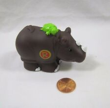 "New! RHINO ""R"" Fisher Price Little People Alphabet Learning Zoo A-Z Animal"