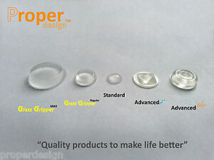 Transparent Clear Buffers Stacking Pads Supports Grips Dots Bumpons Glass Table