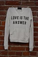 "SPIRITUAL GANGSTER GIRLS HOODIE ""LOVE IS THE ANSWER"" sweater pullover hoodie tee"