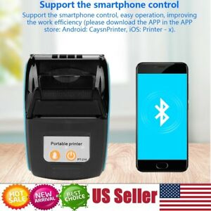 Portable Mini 58mm Bluetooth Wireless Thermal Receipt Ticket Printer Mobile bill