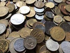 1 Kg/Kilogramm Restmünzen/Umlaufmünzen Europa und andere Gebiete