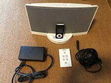 Bose SoundDock serie i altavoces box blanco iPod iPhone de alimentación control remoto