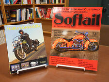 2 Book Lot; Harley Davidson Galllery & How to Hop-up and Customize Softail Bike
