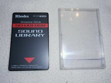 RHODES ROLAND CARD SOUND LIBRARY SN-U01-06R ORCHESTRAL WINDS U20,D70,MV30