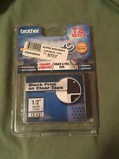 Brother TZe-131 Label Tape TZe131 / Ptouch TZ131 fits PT-1230PC PT-1190 NEW OEM