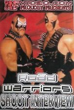 Road Warriors Shoot DVD WWE WWF WCW NWA NWO Hawk LOD Steiner Demolition Animal