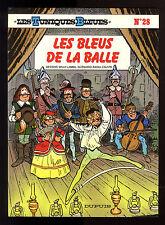 TUNIQUES BLEUES T 28  LES BLEUS DE LA BALLE  LAMBIL / CAUVIN     EO