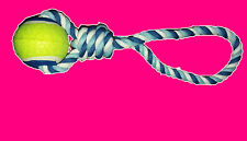 Neu Hundespielzeug Katzenspielzeug Ball mit Schlaufe Hundezubehör
