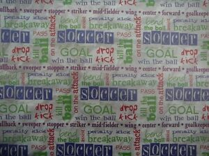"12X12"" Vellum Soccer Words from It Takes Two 5 sheets"