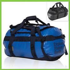 EPE Pisces Waterproof PVC Roll Top Gear Bag 4wd Wet Dry Duffel Backpack 2 Sz 60l - Black Explore Planet Earth