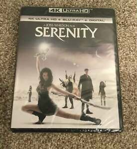 Serenity (4K UHD Blu-ray/Blu-ray, Digital HD, 2017) NEW Movie Ultra HD