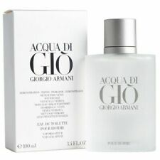 Acqua Di Gio 3.4 Oz Men Spray Edt Cologne Giorgio Armani New Authentic TST