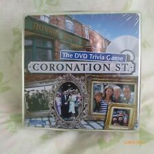 THE DVD TRIVIA GAME (CORONATION STREET) BRAND NEW IN ORIGINAL SEALED TIN