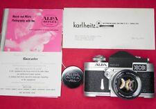 Alpa 6C with 50mm f1.8 Macro-Switar  # 43206