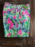 Lilly Pulitzer Beaumont Short 29580 SALT IN THE AIR Golf Boat Beach Mens Size 40