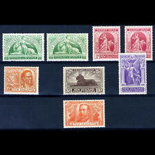 NEW ZEALAND 1920 Victory Inc Shades. SG 453-458. Lightly Hinged Mint. (BH065)