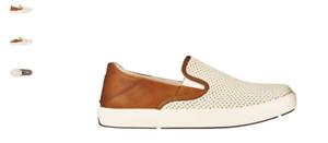 Olukai Lae'Ahi Kapa Bone/Fox Mesh Slip-on Sneaker Men's US sizes 7-14 NEW!!!