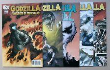 GODZILLA - IDW - 5 book lot - #4 (In Hell), #4 (Kingdom of) & 6,7,8 (1st series)