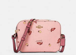 NWT Coach Mini Camera Bag With Butterfly Print 2464