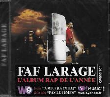 FAF LARAGE ( RAP STORIES ) CD 14T (pas le temp,ta meuf,c est pas ma faute ) 2007