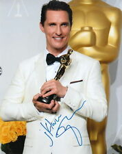 MATTHEW McCONAUGHEY.. with His Academy Award - SIGNED