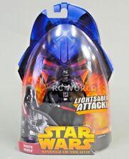 STAR WARS Revenge Of The Sith DARTH VADER Light Saber Attack w// Outer+Case #MF20