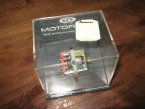 VINTAGE IN CASE 1960's IDEAL QUICK CHANGE MOTORIFIC MOTOR RED BACK NOT TESTED