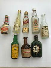 Man Cave Stuff miniature liquor bottles various brands approximately 24 bottles