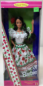 1996 Mexican  Barbie Dolls of the World Collection