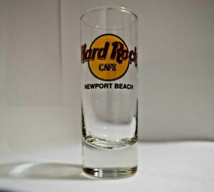 Hard Rock Cafe  Shot Glass Newport Beach Travel Souvenir Shooter