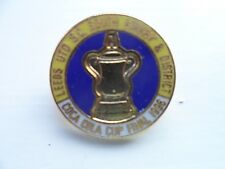 Leeds United Football Club Enamel Badge