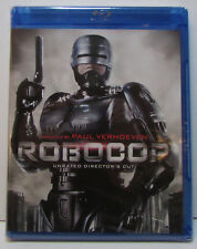 Robocop (1987 original) Unrated Director's Blu-ray, 2014 remastered, NEW/SEALED!