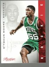 2012-13 Prestige E'Twaun Moore Rookie Card RC Houston Rockets #197 NBA Panini