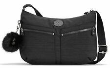 kipling Basic Plus Eyes Wide Open Izellah Medium Shoulderbag True Dazzling Black