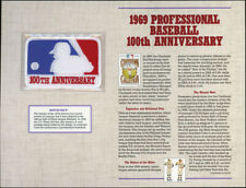 1991 COOPERSTOWN COLLECTION 1969 PROFESSIONAL BASEBALL 100th ANNIVERSARY PATCH
