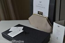 Nuevo Auténtico ANYA HINDMARCH MAUD SETA Boda Clutch Bag £ 475 en Caja De Regalo