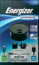 Energizer Ultimate USB Wall Charger *NEW* (Nokia,Samsung,HTC,Sony,LG,Motorola)