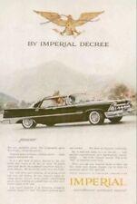 1959 CHRYSLER IMPERIAL Magazine Print Ad (113)