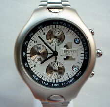 BMW JD Gold Plant Quality Award Retro Business Sport Design Watch Chronograph