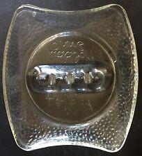 Vintage HOLIDAY INN ADVERTISING GLASS ASHTRAY Mid-Century