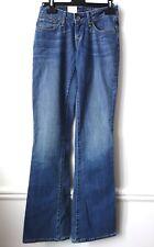 JEANS FEMME LEVI'S Bold Curve Skinny Boot cut évasé W26 L34 NEUF étiqueté !