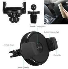 Auto Car Air Vent Adjustable Wireless Phone Charger Holder Mount 360° Rotation(Fits: Ford Manual)