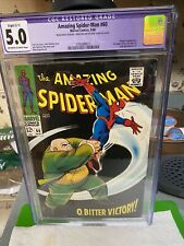 AMAZING SPIDER-MAN #60 CGC 5.0(R).SLIGHT COLOR TOUCH..O, Bitter Victory