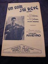 Partition Un soir j'ai rêvé G. Morel and A. Padua rumba