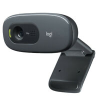 C270 HD Video 720P Webcam with Microphone USB 2.0 Support Official Test PC UK