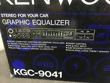 Kenwood Kgc-9041 Graphic Equaliser Power Wiring Harness Loom Lead Connector 4pin