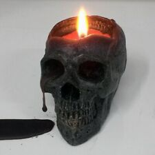 1 PCS Bleeding skull candle crying candles Halloween Large smokeless Skeleton