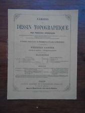 CAHIER DE DESSIN TOPOGRAPHIQUE - FREDERIC HENNEQUIN - PLANIMETRIE - 1900 - TTBE