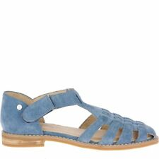 Hush Puppies Women's Chardon Fisherman Sandal, Vintage Indigo, 6.5 M